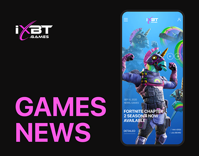 iXbt Games - Redesign Concept 2020