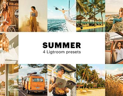 Free Summer Instagram Filter - Lightroom Preset