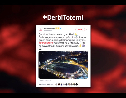Vodafone Park #DerbiTotemi