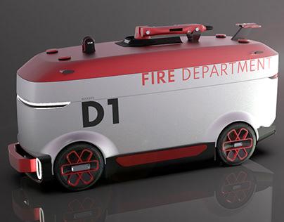 Autonomous Fire Fighting Vehicle