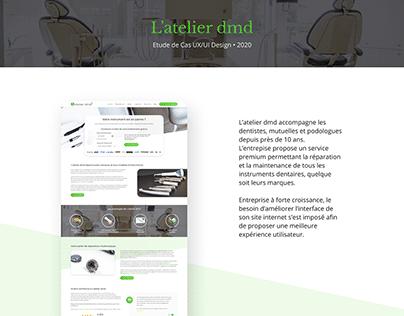 Etude de Cas UX/UI Design : L'atelier dmd