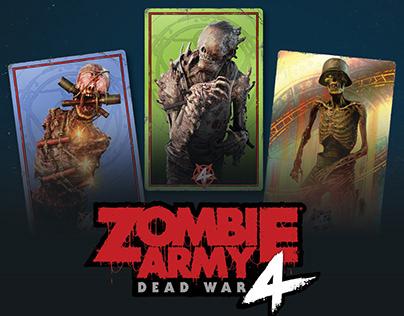 Zombie Army 4 Dead War Stickers