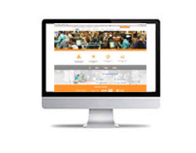 Global POS site www.globalpos.cl with Parallax