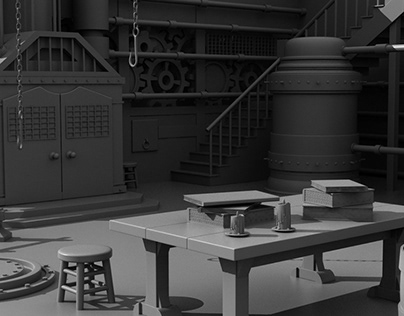 3D Modeling 1 - Environments