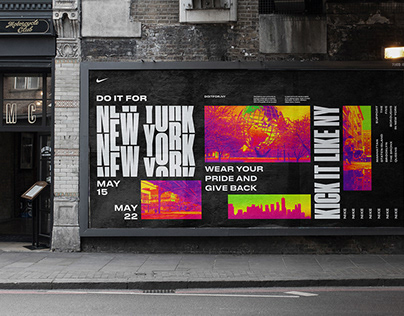 Nike 'Do it for NY' Campaign concept