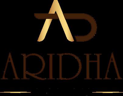 Aridha Logo and branding