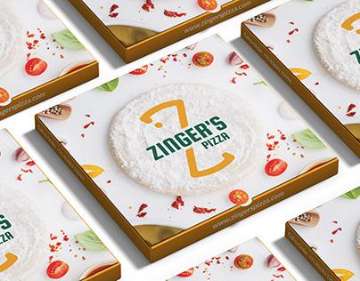 Zinger's Pizza   Branding & Packaging