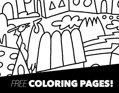 Quarantine Homes - FREE COLORING PAGES!