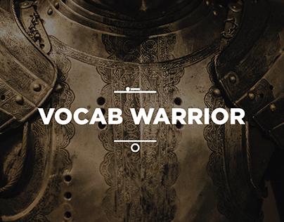 Vocab Warrior Concept App