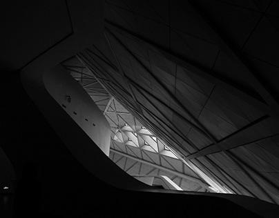 Guangzhou Opera House BW