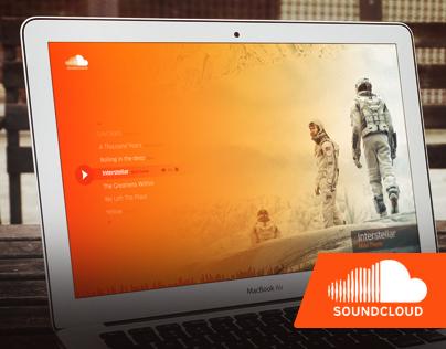 Simpler Soundcloud - Redesign Concept
