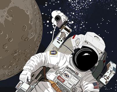 Primer paseo espacial autónomo, Febrero 1984