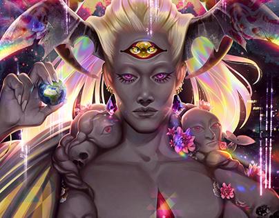 [Hades] Primordial Chaos Fanart