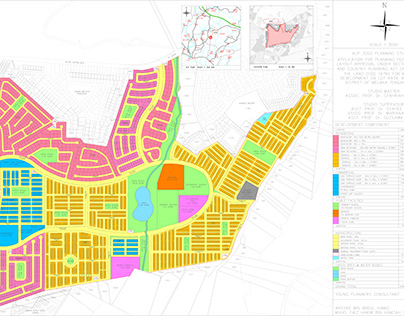 Layout Plan Bandar Floria