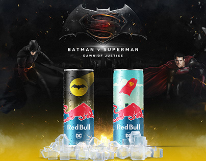 Dawn Of Justice // Redbull Can Design