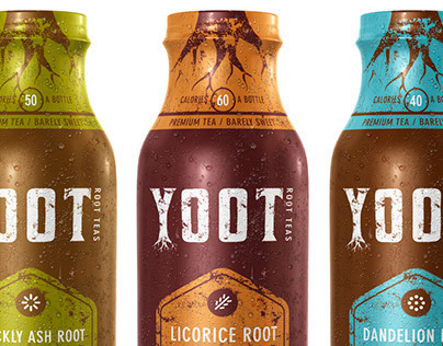 Yoot Teas - 3D Product Shot