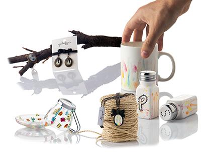 Productos personalizados para mercados creativos