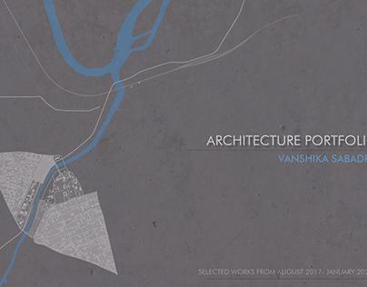 Undergraduate Architecture Portfolio