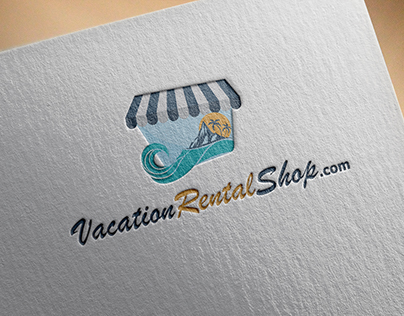 vacation rental shop logo