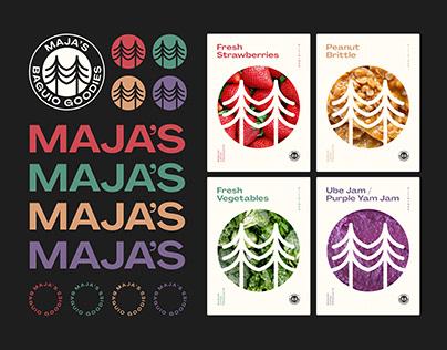 Maja's (Brand Identity)
