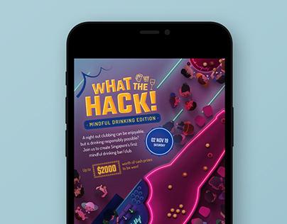 What The Hack! - Hackathon EDM Visual