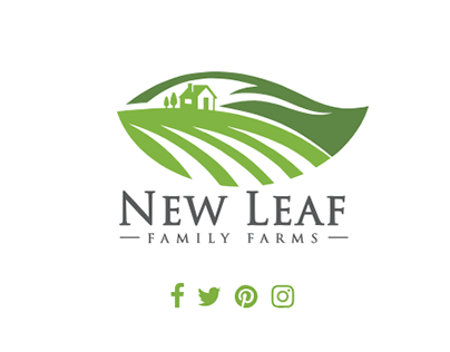 New Leaf Family Farms Web Design