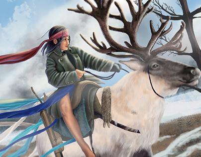 The reindeer rider