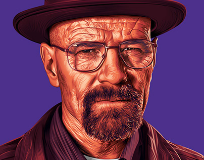 Walter White - Digital art (vector art)