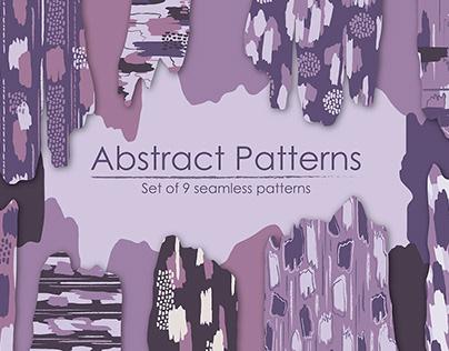 Abstract Patterns Set By:Aleksandra Popova