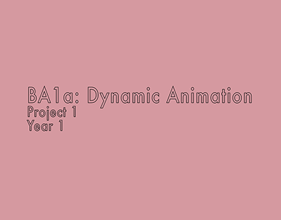 BA1a: Dynamic Animation