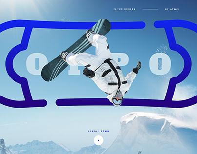 Snowboarding Store Concept