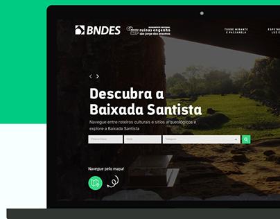 Webdesign: Project for University of São Paulo