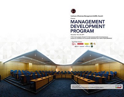 MDP Program Brochure - Two Pages View -IoBM Office Work
