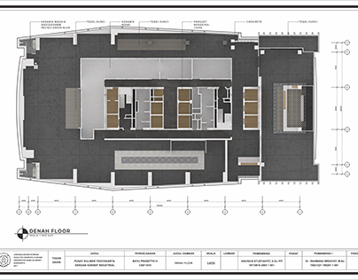 Project TA Existing - Floor plan