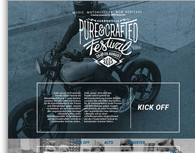BMW Motorrad Pure & Crafted