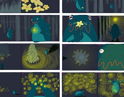 Color script - Russ