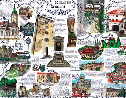 Guía Ilustrada Croacia