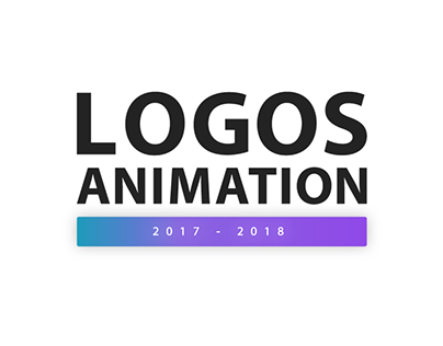 LOGOS ANIMATION 2017 - 2018