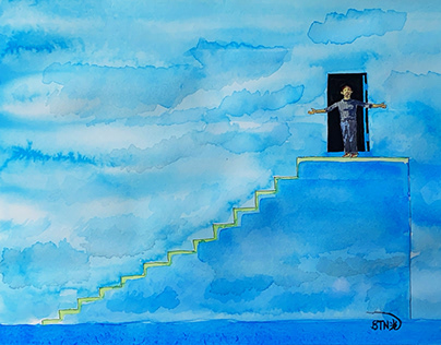 Movie : The Truman Show(1998) - Watercolor on Wednesday