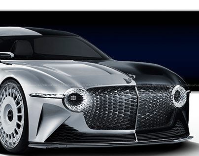 2020 Bentley EXP 100 GT Black Swan