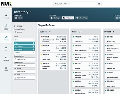 Complex Industry Management Application Design