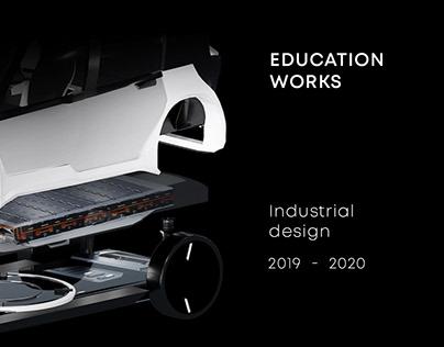 Industrial Design. Student portfolio