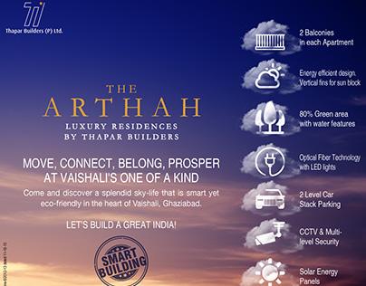 NEWSPAPER AD - ARTHAH