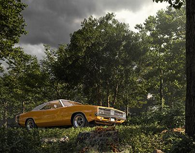 1969 Dodge Charger - FULL CGI