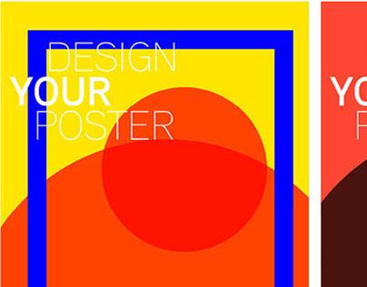 Design Your Poster, Generative design