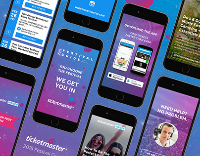 Ticketmaster Festival Guide 2016