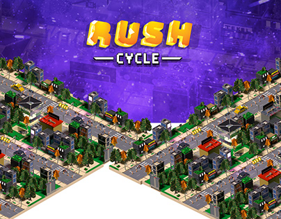 Game Design - Rush Cycle Mobile Game