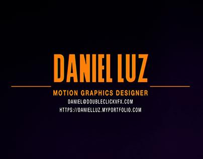 Daniel Luz - Motion Graphics Reel 2019