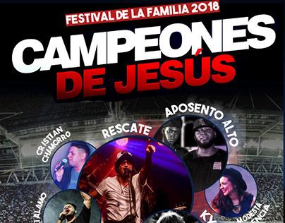 Flyer para eventos cristianos