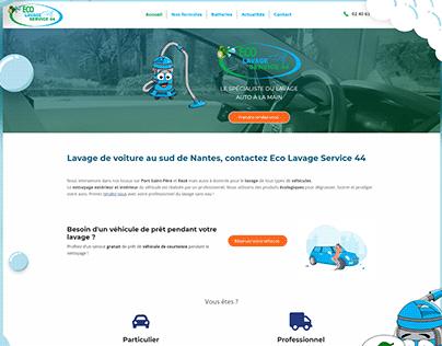 Design Web - Eco Lavage Service 44
